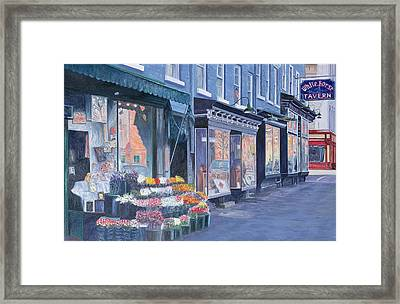 White Horse Tavern Hudson Street West Village Framed Print by Anthony Butera