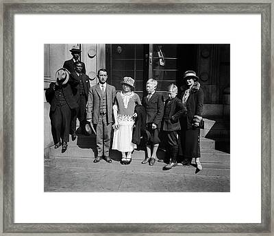 White Indians Of Darien Research Framed Print by Library Of Congress