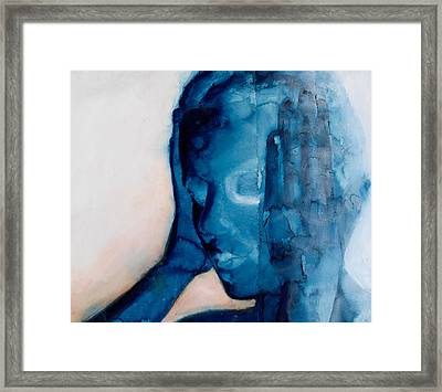 White Noise Framed Print by Graham Dean