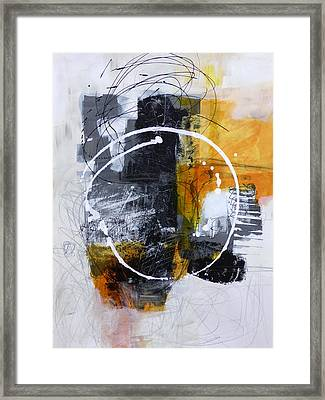 White Out 3 Framed Print by Jane Davies