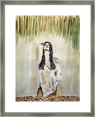 White Passion Framed Print by Shlomo Zangilevitch