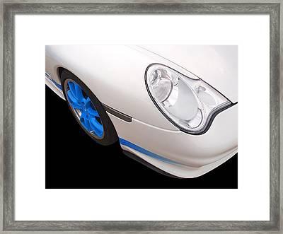 White Porsche Gt3 Rs  Framed Print by Gill Billington