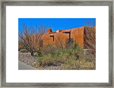 White Sands New Mexico Adobe 01 Framed Print by Gregory Dyer