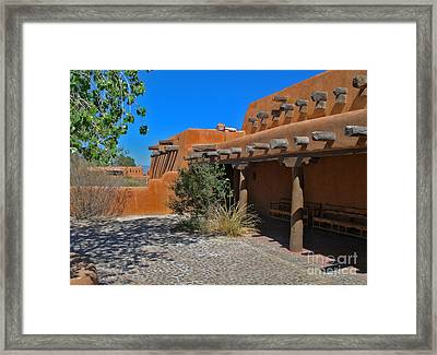 White Sands New Mexico Adobe Framed Print by Gregory Dyer