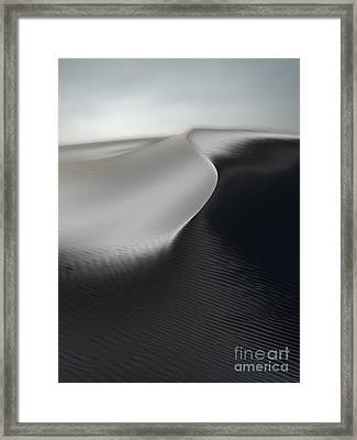 White Sands New Mexico Razor Back 02 Framed Print by Gregory Dyer