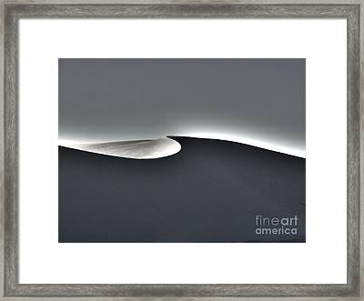 White Sands New Mexico Razor Back Framed Print by Gregory Dyer