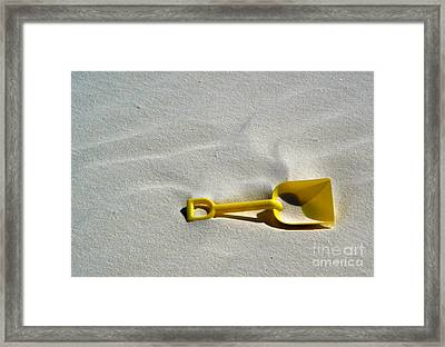 White Sands New Mexico Sand Boz Framed Print by Gregory Dyer