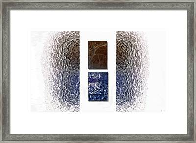 White Space Framed Print by Jeff Breiman