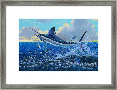 White Surprise Off0050 Framed Print by Carey Chen