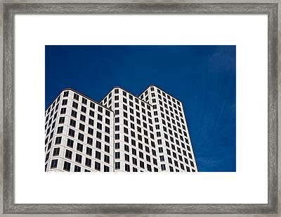 White Towers Framed Print by Mark Weaver