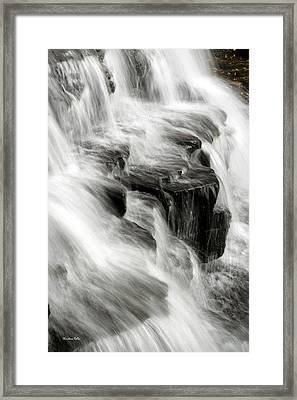 White Water Falls Framed Print by Christina Rollo