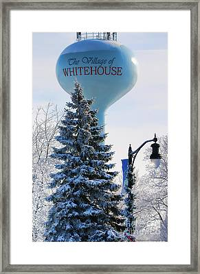 Whitehouse Water Tower  7361 Framed Print by Jack Schultz