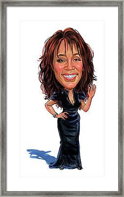 Whitney Houston Framed Print by Art