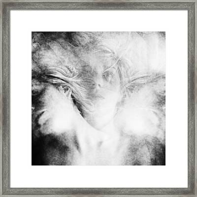 Who Am I Framed Print by Anca Magurean