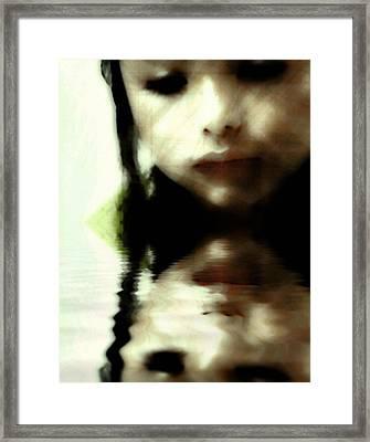 Who Am I Framed Print by Gun Legler