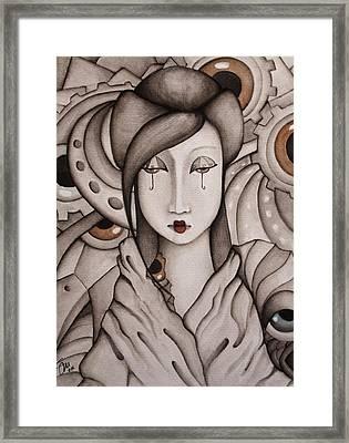 Who Am I Framed Print by Simona  Mereu