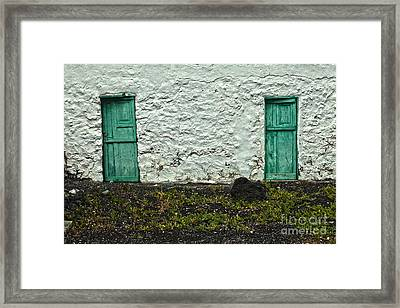 Who Came Through These Doors Framed Print by Patricia Hofmeester