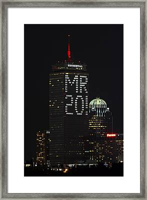 Who Is Mr. 20 Framed Print by Juergen Roth