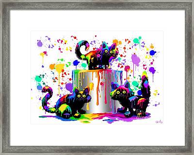 Who Me? Framed Print by Nick Gustafson