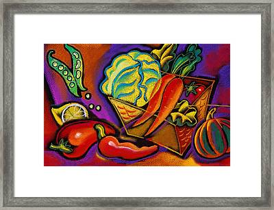 Very Healthy For You Framed Print by Leon Zernitsky