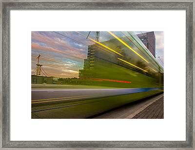Whoosh Framed Print by Kunal Mehra
