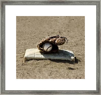 Who's On First Framed Print by Bill Cannon