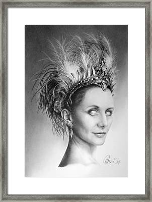 Who's Stella Framed Print by Mario Pichler