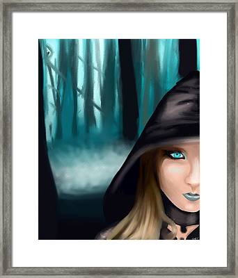 Wicked? Framed Print by Stacy Parker