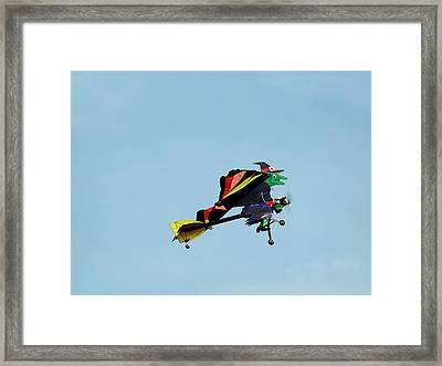 Wicked Framed Print by Thomas Young