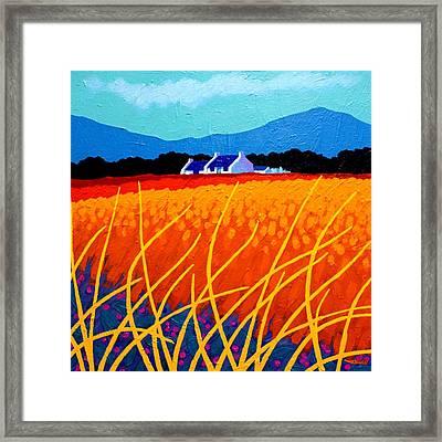 Wicklow Hills Framed Print by John  Nolan