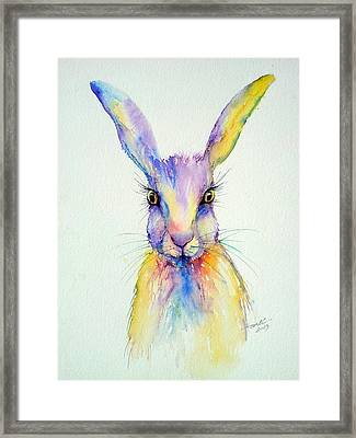 Wide Eyed Framed Print by Arti Chauhan