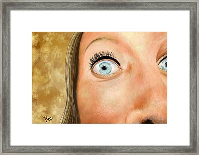 Wide Open Framed Print by Maria Schaefers