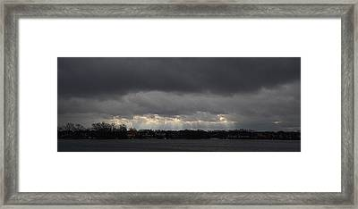Wide View Framed Print by Dennis James
