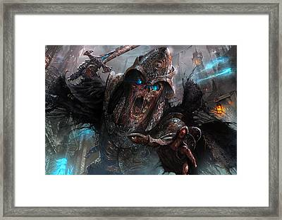 Wight Of Precinct Six Framed Print by Ryan Barger