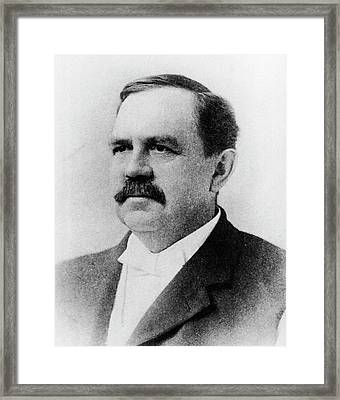 Wilbur Atwater Framed Print by National Library Of Medicine