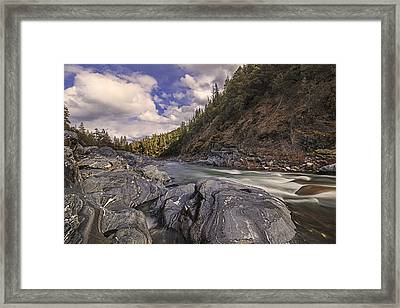 Wild And Scenic Scott River Framed Print by Loree Johnson