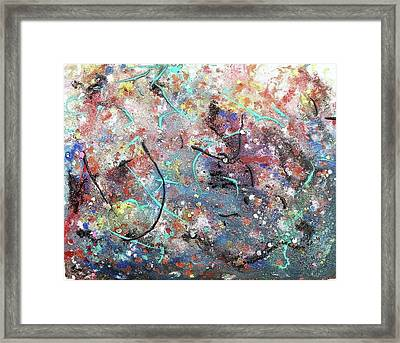 Wild Crazy Universe Framed Print by Suzanne  Marie Leclair