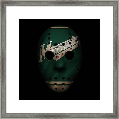 Wild Jersey Mask Framed Print by Joe Hamilton