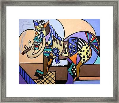 Wild Pony Framed Print by Anthony Falbo