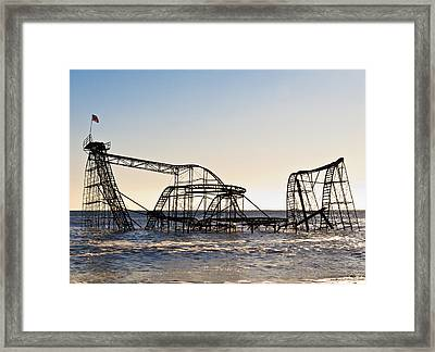 Wild Ride Framed Print by Michael Attanasio