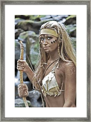 Wild Woman 1 Framed Print by Don Ewing