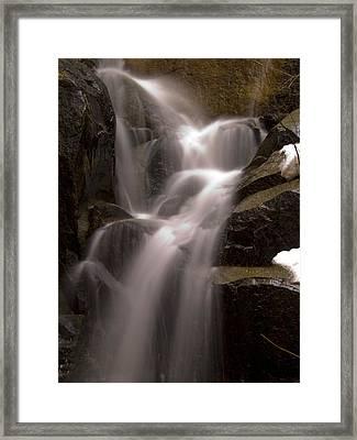 Wildcat Falls Framed Print by Bill Gallagher