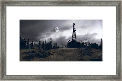 Wilderness Energy Framed Print by Daniel Hagerman