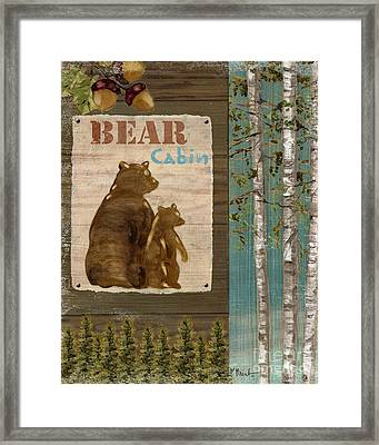 Wildlife Collage II Framed Print by Paul Brent
