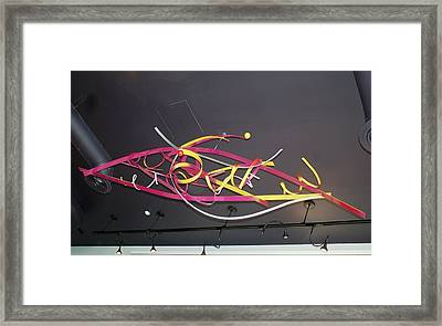 Wildly Flying Angels Framed Print by Mac Worthington
