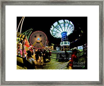 Wildwood Is A Happy Place Framed Print by Mark Miller
