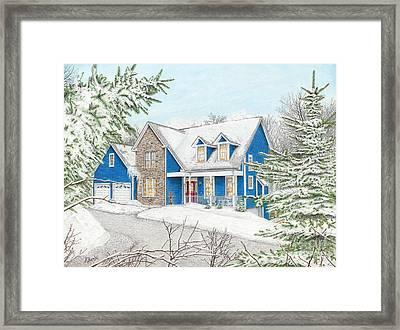 Wiley House Framed Print by Albert Puskaric