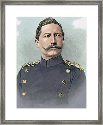 Wilhelm II Of Germany (potsdam Framed Print by Prisma Archivo
