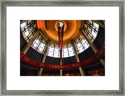 Will The Circle Be Unbroken Framed Print by Dan Sproul