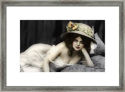 Will You Love Me In The Morning Framed Print by Georgiana Romanovna